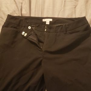 Black Dress Pants,  10 Tall, NY&Co